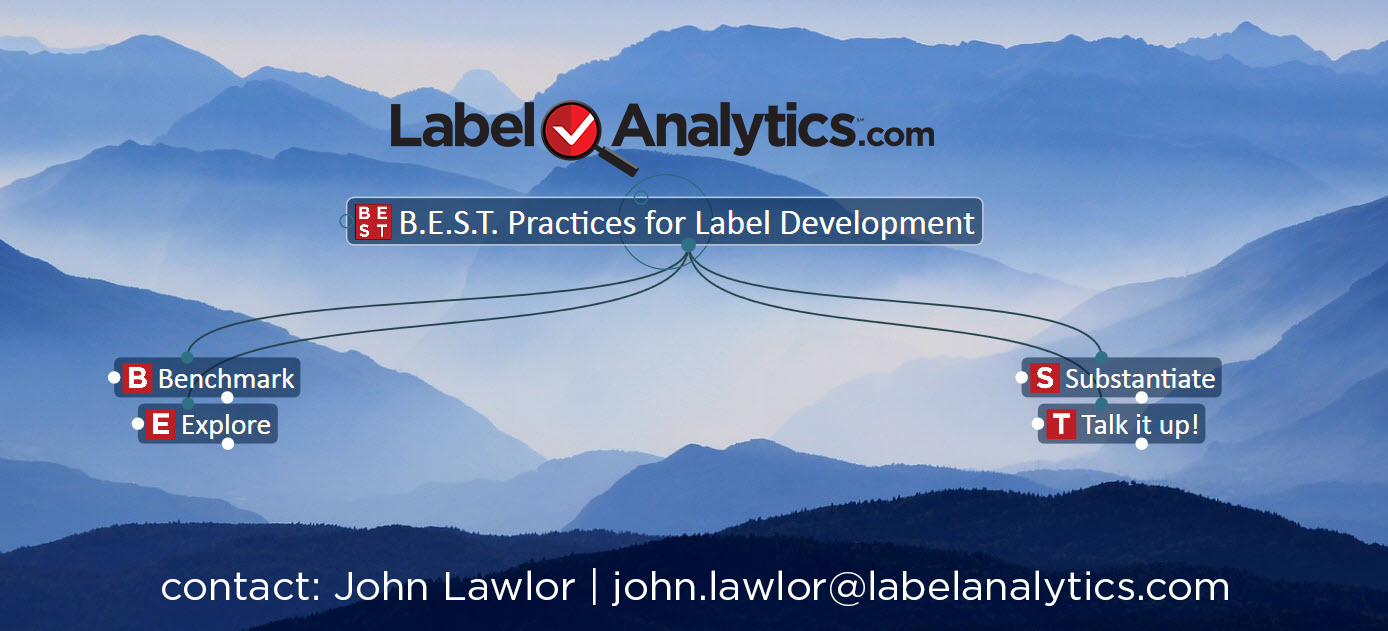 """B.E.S.T. Practices for Label Development"" – a new framework from the researchers at Label Analytics.com"